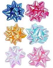 EXCEART 30-Delige Geschenkstrikken Met Glitterlint Voor Geschenkverpakking
