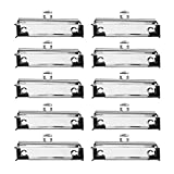 LuLyL 10 Pack Mountable Clipboard Clips, Spring Loaded Surface Mount Maniglia con Impugnatura in Gomma