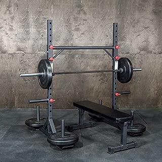 OneFitWonder Strongman Yoke - Multi-Functional Squat Rack/Fat Bar Pull-Up Station/Zercher Carry - Strongman/Weightlifting Equipment