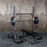 OneFitWonder Strongman Yoke - Multi-Functional Squat Rack/Fat Bar Pull-Up Station/Zercher Carry - Strongman/Weightlifting Equipment