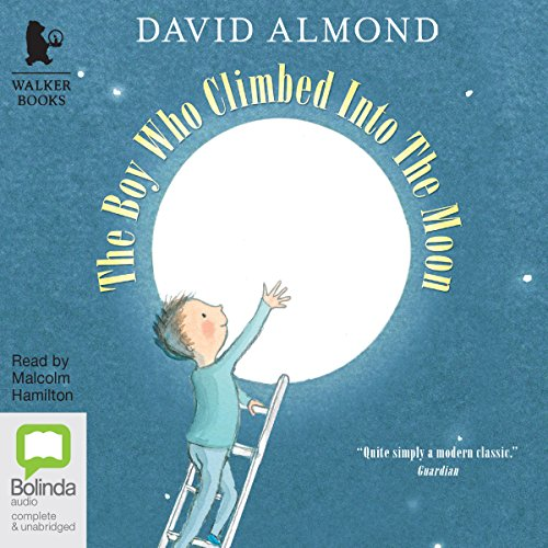 The Boy Who Climbed into the Moon audiobook cover art