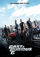 映画 ワイルド スピード ユーロミッション ポスター 42x30cm The Fast and The Furious ポール ウォーカー ヴィン ディーゼル 【並行輸入品】