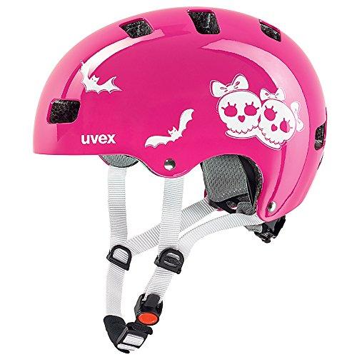 Uvex Kinder Fahrradhelm Kid 3, Rosa (Scary Pink), 51-55 cm