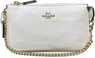 Coach Pebbled Leather Large Wristlet 19