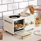 NRZZ Multifunktionale Haushalts-Frühstücksmaschine Mini Kleiner Elektroofen DREI in...