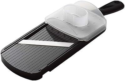 Kyocera Advanced Ceramic Adjustable Mandoline Vegetable Slicer w/Handguard-Black