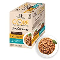 Grain free cat food pouches with chicken, multipack Naturally hypoallergenic wet cat food pouches: No soya, no grains, no wheat, no gluten, no dairy, no artificial colours, no articial flavours, no artificial preservatives, no sugar, no porc Complete...