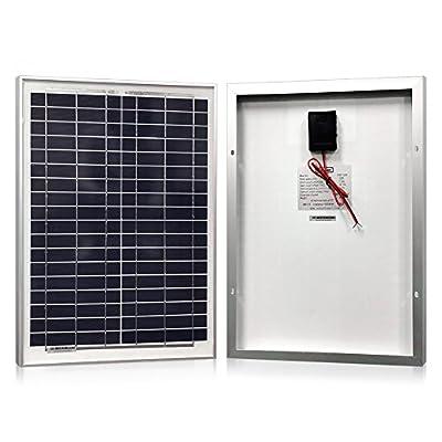 POWERECO Solar Panels- Polycrystalline 10W, 20W, 30W, 40W For 12V Batteries Charging