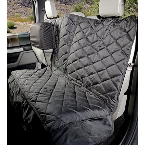 Heavy Duty Grey Rear Seat Cover Pet Back Protector For Peugeot 3008 2009-2016