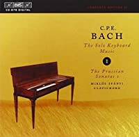 V 1: Keyboard Music Vol. 1 by C.P.E. BACH (2000-08-07)