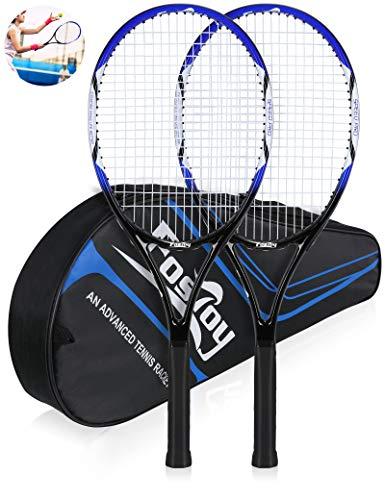 Senston 27 Inch Tennis Racket Professional Tennis Racquet,Good Control Grip,Stru