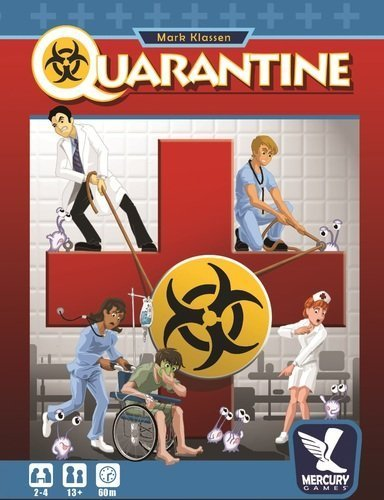 Quarantine Board Game by Publisher Services Inc (PSI)