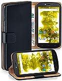moex Klapphülle kompatibel mit Motorola Moto C Hülle