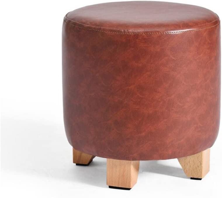 LGQ-JJU Wood Handcrafted Seating ,Footrest Max 78% OFF Ottoman P Footstool Free Shipping Cheap Bargain Gift