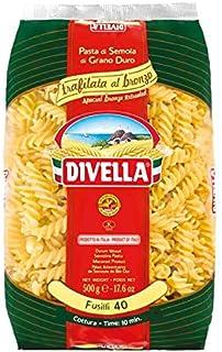 Divella Fusilli Pasta 40 Bronzo, 500 gm