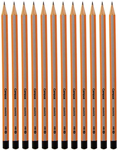 Campus University MKP9001 grafietstiften 2HB, grafiet, 12 stuks