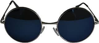 Beautiful Unisex Latest Design Hippie Style Goggles Round Sunglasses Anti-Reflective Lens
