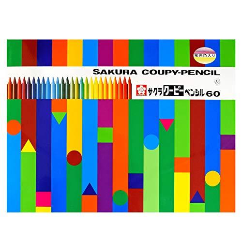 60 Color Pencil Kupi (Canned) (Japan Import)