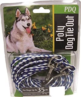 Boss Pet Q2415 000 99 15' Medium Dog Pdq Rope Tie-Out