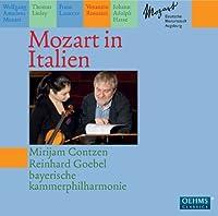 Mozart in Italy by Contzen/Goebel/Bayerische Kammerphilharmonie (2010-10-26)