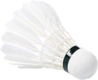 Vaibhav Sports Badminton Shuttlecock Pack of 10 Feather Shuttle Cock