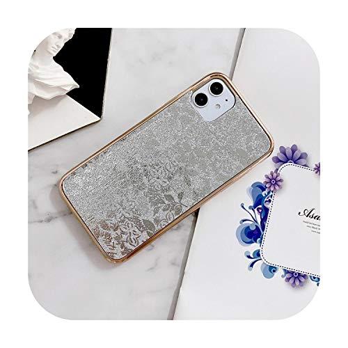Phonecase - Carcasa para iPhone 11 Pro Max Se 2020 X Xr Xs 8 7 Plus (galvanoplastia)