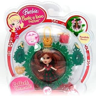 Barbie Peekaboo Petites Snowflake Flurries Doll Collection - #31 Holiday Joy