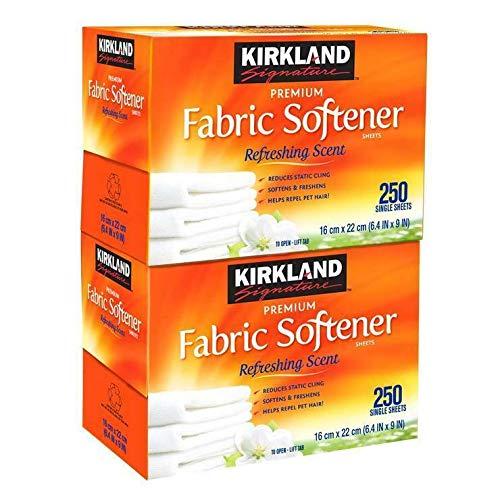 Kirkland Signature Premium Fabric Softener Sheets