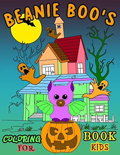 BEANIE BOO'S COLORING BOOK FOR KIDS: New Collection best Beanie Boo Coloring Book for Kids, young girls and boys | beanie boo coloring book