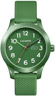 Lacoste Kids' TR90 Quartz Watch with Rubber Strap, Green, 14 (Model: 2030001)