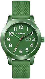 L1212 Green Dial Silicone Strap Unisex Watch 2030001