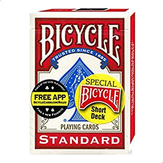 Bicycle Red Short Deck Trick Playing Cards