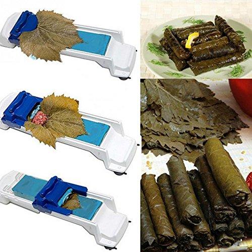 Yimosecoxiang Rutschfester, kreativer Küchenroller, für gefülltes Fleisch, Sushi, Roller, Gemüse, Kohlbereiter