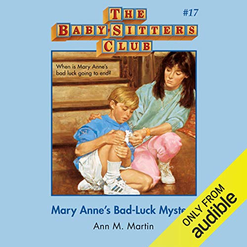 Mary Anne's Bad Luck Mystery cover art