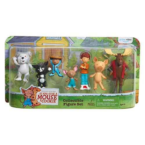 If You Give a Mouse a Cookie 7 Piece Collectible Figure Set - Amazon Exclusive
