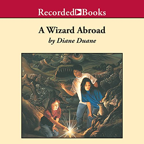 A Wizard Abroad audiobook cover art