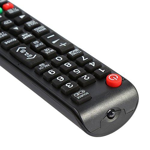 SALALIS Reemplace el Control Remoto, Las Teclas de navegación del menú dedicadas del Control Remoto Universal para LCD LED o TV de Plasma
