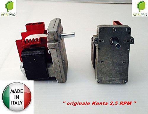 MOTORIDUTTORE KENTA K 911 5101 RPM 2,5 MASCHIO ORARIO MADE IN ITALY STUFA PELLET GIRARROSTO