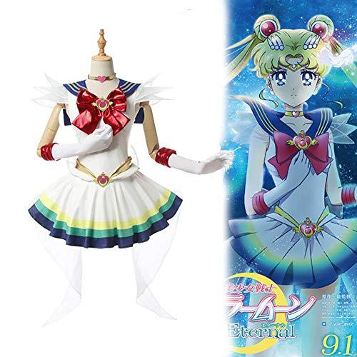 Anime Cosplay Kostüm Sailor Moon Halloween Kostüm Uniform Kostüm Kostüm Für Erwachsene Beinhaltet Einen Vollständigen Satz Zubehör - Tsukino Usagi,L
