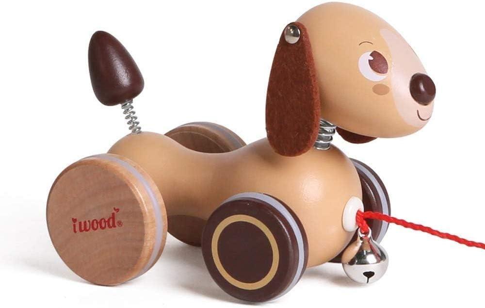 Ladan Fun Walker Direct store Car Wooden Toy 55% OFF Traction Wa Hauling Children's