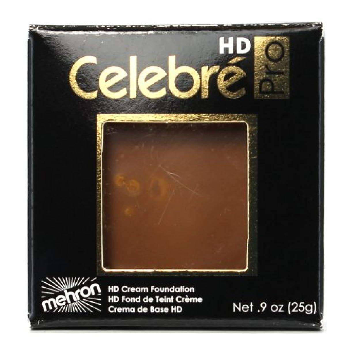 あいにく四面体コードレス(3 Pack) mehron Celebre Pro HD Make-Up - Dark 2 (並行輸入品)
