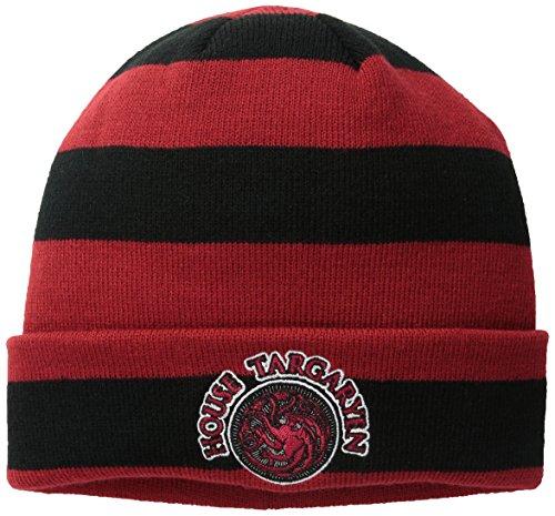 Game Of Thrones House Targaryen Patch Cuff Beanie Hat