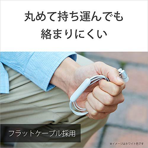 ソニーSONYワイヤレスイヤホンWI-C310:Bluetooth対応/最大15時間連続再生/マイク付きフラットケーブル採用2019年モデルホワイトWI-C310WC