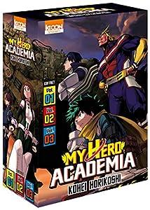 My Hero Academia Coffret starter (2020) Tomes 1 à 3
