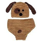 Ponacat Accesorios de Fotografía para Bebés Recién Nacidos Pantalones Cortos de Sombrero de Fibra de Leche Suaves Y Cómodos para Bebés de 0 a 2 Meses