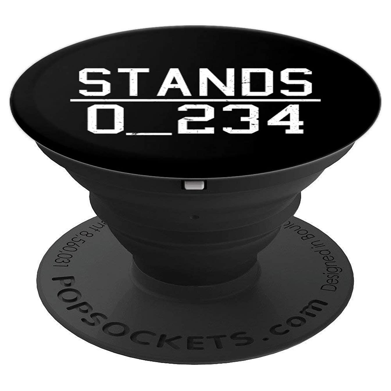 No 1 Under Stands Riddle   Funny Word Puzzle Gift - PopSockets Grip and Stand for Phones and Tablets