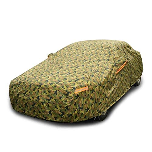 jsmhh Car Cover Waterproof and Breathable, Compatible with Honda Civic Special Outdoor Car Cover Polyester Thick Fabric Rain/Sunscreen/Dust/Sunshade Car Cover Car accessori