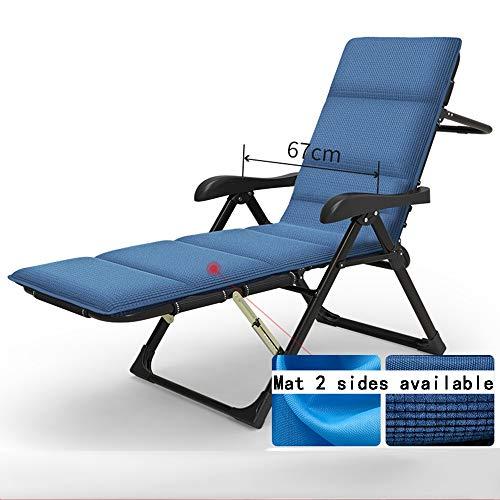 HAIYU- Coussins Inclinables Chaises Pour Chaise Portative Camping Plage Extérieure Gravité Zéro Personnes Lourdes, 400kg -Idéal pour l'accessoire de patio extérieur (Couleur : B)