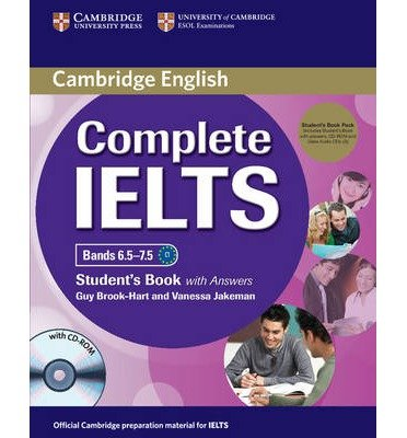 Complete IELTS Bands 6.5-7.5 Student's Pack (student's Book with Answers with CD-ROM and Class Audio CDs (2)) (Complete) (Mixed media product) - Common