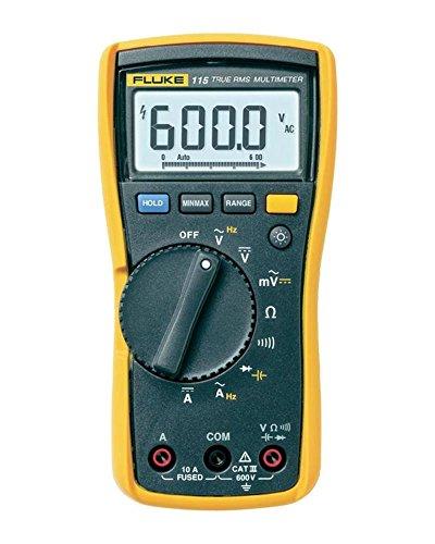 Fluke Multímetro digital 115, 600 V, 10 A
